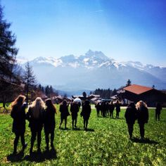Spring is at Aiglon College Ski, College Campus, Swiss Alps, Scenery, Seasons, Mountains, Spring, Nature, Travel