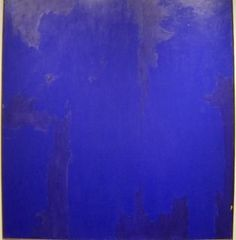 Clyfford Still                                                      The color of the Entry…..with Stars