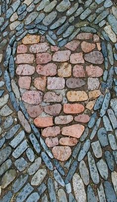 Stone Heart Mosaic | Tumblr