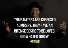 Hug a hater today