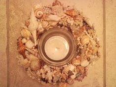Lovely Custom Order.. Happy, Happy Customer.. Seashells, Nautical, Beachy they fit a coastal décor  www.etsy.com/shop/SouthernCharmSeaside Seashell Centerpieces, Gulf Of Mexico, Seashells, Coastal Decor, Nautical, Ethnic Recipes, Happy, Fit, Shop