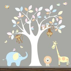 love the tree, animals not so much