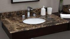Image result for emperador marble bathroom