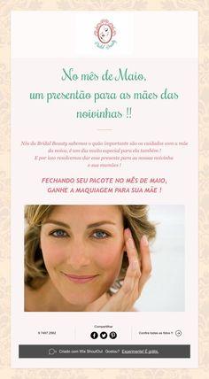 No mês de Maio,  um presentão para as mães das noivinhas !!