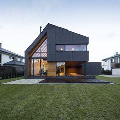 """Dom jednorodzinny wolnostojący """"RYB House"""" - PLN Design"""