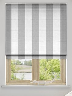 Amelie Grey Roman Blind from Blinds 2go