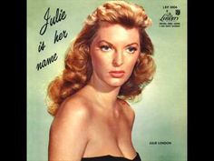 ▶ Love her voice!  Julie London - Cry me a river - 1955 - from 'The Girl Can't Help It' with Jayne Mansfield