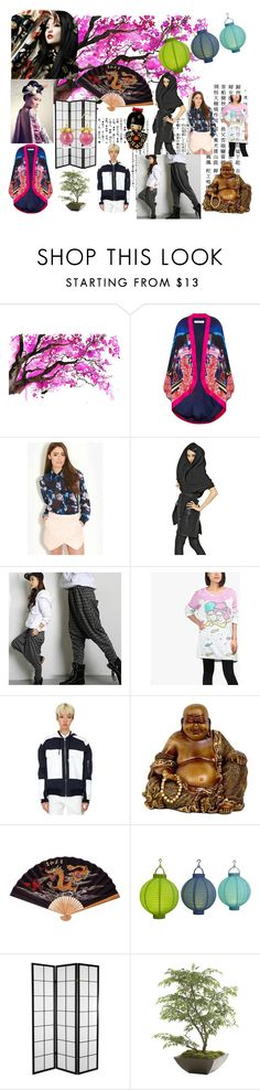 """""""Japanese Fashion: Past & Present"""" by beautyglamchris ❤ liked on Polyvore featuring House of Cannon, Behance, Glamorous, Gareth Pugh, Fashion Diva, Kaal E.Suktae, Pier 1 Imports, Ethan Allen, Naoto and modern"""