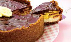 CreamCheese de chocolate com banana, uma delícia! #creamcheese #instafood #sobremesa #inspireHulala