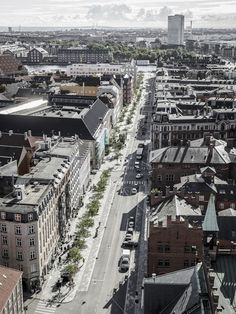 Vester Voldgade Urban Spaces by COBE Architects and GHB Landskab Copenhagen, Denmark