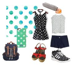 """Dots"" by adri-98 on Polyvore featuring Keds, Marc by Marc Jacobs, SM New York, adidas, Madewell and MANGO"