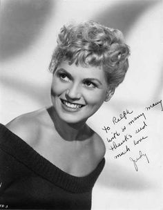 Actor, comedian, and singer Judy Holliday (born Judith Tuvim) was part of a nightclub act before working in Broadway plays and musicals. Her success in the 1946 stage production of Born Yesterday led to star in the 1950 film version which her an Academy Award for Best Actress and a Golden Globe Award for Best Actress - Motion Picture Musical or Comedy. Of Jewish descent, she was profoundly intelligent, with an IQ score of 172, above the 99.999th percentile. She died at 43 from breast cancer.