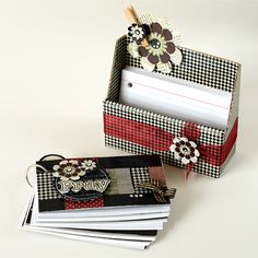 Prayer or scripture memory box - cute and useful! @Staci Woodward