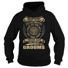 GROOMS T-Shirts, Hoodies. GET IT ==► Funny Tee Shirts