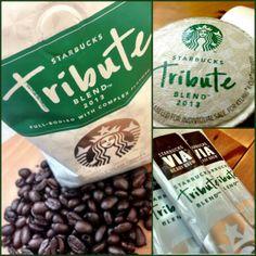 Starbucks Tribute Blend 2013