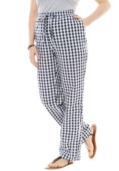 d6a970eadde Petite Seersucker Pants - Women s Plus Size Clothing Seersucker Pants
