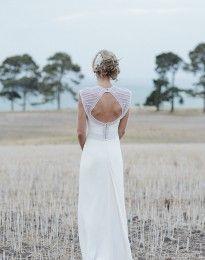 Custom Jana Wedding Dress - www.its-beautiful-here.com