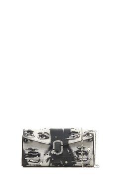 Personality Metal Lock Purse Architd Customized Cute Retro Coin Purse Girl Kiss And Buckle Change Purse Ladys HandbagIrregular Point Fringe Pattern