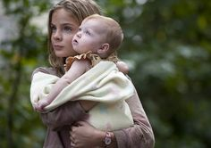 images of an older Judith Grimes in the Walking Dead comics   Walking Dead S4 Ep14 – Lizzie holds baby Judith. [ The Walking Dead ...