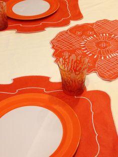 Tovaglietta - Placemat Parentesi 800 - 034 orange