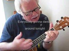 """▶ DANCE TONIGHT for the UKULELE - UKULELE LESSON / TUTORIAL by """"UKULELE MIKE"""" - YouTube"""