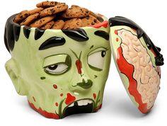 Cookie jar or brain jar?