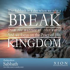 Sabbath Peace! #SabbathBlessings