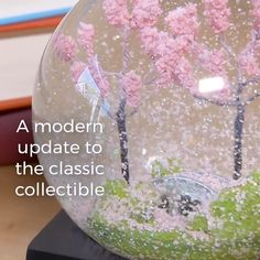 Modern & Unique Snow Globes by CoolSnowGlobes® Unique Snow Globes, Diy Snow Globe, Christmas Snow Globes, How To Make Glue, Homemade Gifts For Mom, Globe Ornament, Jar Art, Different Holidays, Dollar Tree Crafts
