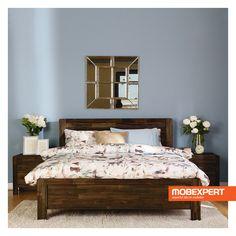 Patul pentru dormitor Larry domina camera dedicata somnului prin naturaletea designului cu influente traditionale. Acesta intra in dialog cu restul pieselor de mobilier pentru dormitor, in special datorita confortului pe care il vizeaza, atat fizic, cat si vizual.  #pat #dormitor #mobexpert Home Furniture, Interior Design, Modern, Pune, Larry, Home Decor, Blog, Nest Design, Trendy Tree
