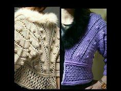 teje chaqueta crochet 2018 - YouTube Crochet Coat, Crochet Winter, Crochet Cardigan, Knitting Videos, Jacket Pattern, Knit Jacket, Sweater Hoodie, Crochet Patterns, Clothes
