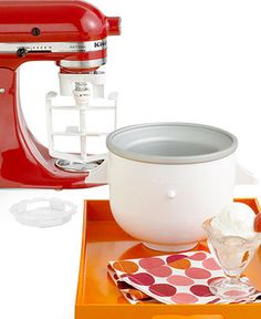 KitchenAid Stand Mixer Ice Cream Maker Attachment —is there any job this handy tool can't handle?