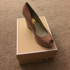 Michael Khor Wedges Only worn once! MICHAEL Michael Kors Shoes Wedges
