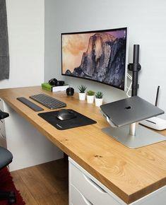 Home Office Setup, Home Office Space, Home Office Design, House Design, Computer Desk Setup, Gaming Room Setup, Gaming Desk, Bedroom Setup, Game Room Design