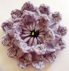 looking for easy flower pattern so i can pimp up my scarfs