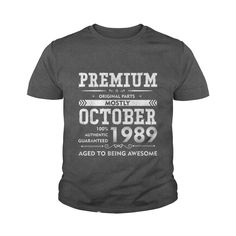 Made in October, 1989 - 28th Birthday Gift T-shirt #gift #ideas #Popular #Everything #Videos #Shop #Animals #pets #Architecture #Art #Cars #motorcycles #Celebrities #DIY #crafts #Design #Education #Entertainment #Food #drink #Gardening #Geek #Hair #beauty #Health #fitness #History #Holidays #events #Home decor #Humor #Illustrations #posters #Kids #parenting #Men #Outdoors #Photography #Products #Quotes #Science #nature #Sports #Tattoos #Technology #Travel #Weddings #Women