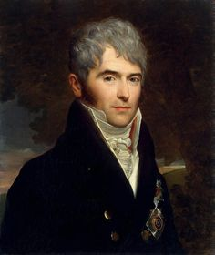 """François Gérard: """"Portrait of Prince Viktor Kochubey"""", 1809,  oil on canvas, Dimensions: Height: 66 cm (25.98 in.), Width: 55.5 cm (21.85 in.), Location: The State Hermitage Museum - St Petersburg  (Russian Federation - St. Petersburg)."""