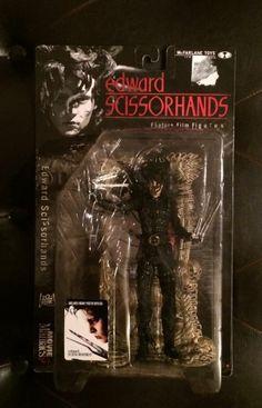 Mcfarlane Movie Maniacs Edward Scissorhands Action Figure NIB  #McFarlaneToys