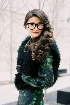 Peony Lim wearing glasses.