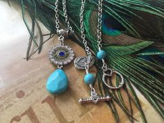 Howlite has many properties including a very calming semi precious stone! It's light and pretty and dead on its target Handmade Necklaces, Handcrafted Jewelry, True Gift, Lava Bracelet, Sparkly Jewelry, Pretty Necklaces, Silver Charms, Jewelry Making, Jewelry Box