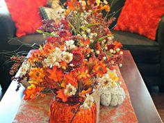 Autumn Decor Coffee Table