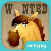 Mystery Word Town - Sight Word Spelling by Artgig Studio ($2.99) Use your spelling skills to find the gold and capture the outlaws in Mystery Word Town. Play with the supplied word lists, or record your own words.