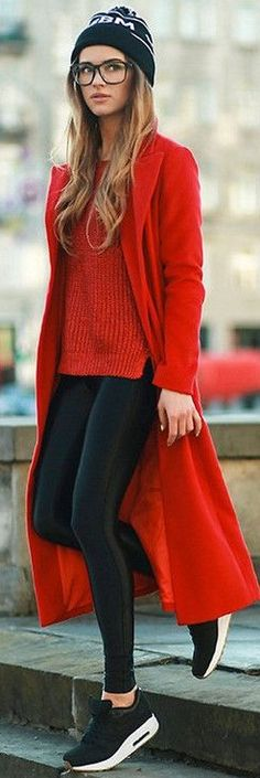 Sneakers street style winter fashion Ideas for 2019 Moda Casual, Casual Chic, Sporty Chic Style, Trendy Style, Sport Casual, Mode Outfits, Casual Outfits, Casual Shoes, Office Outfits