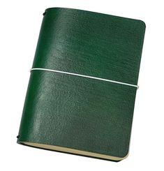 "FLEXI(""M"")- green genuine cow-leather notebook+white(refills:2019, ToD Leather Notebook, Leather Journal, Personal Organizer, Notebook Covers, 2019 Calendar, Leather Cover, Cow Leather, Cool Suits, Make Your Own"