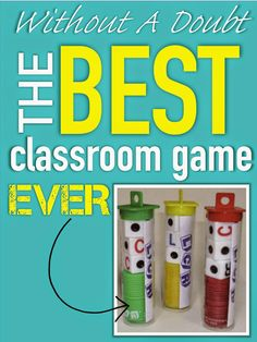 Best Classroom Game EVER! Almost any age can play it, great for field trips/indoor recess ...where has this been all my life??? {Your Teacher's Aide}