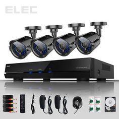 ... 600TVL Surveillance CCTV DVR Outdoor Security Camera System 1TB | eBay See the new technology outside security cameras at hiddenwirelesssecuritycameras.com