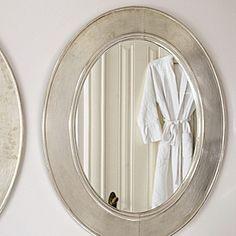 Sullivan Mirror | Serena & Lily (good in a bathroom)