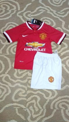 Manchester United Home Football Shirts 2014/15 for Kids