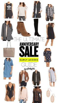 Don't waste time browsing the Nordstrom Anniversary Sale - I've pulled out the top picks and best deals from each category! Some great fall and transitional pieces for women, along with handbags, jewelry, shoes, and more! fashion and shopping // inspiration and ideas // sales and savings