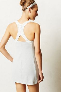 Anthropologie now has tennis clothing.