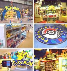 Pokemon center. It does exist!